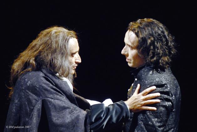 Daniel Mesguich et William Mesguich © DR