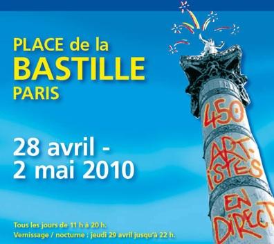 28 avril au 2 mai 2010, Grand Marché d'Art Contemporain-Bastille-Paris