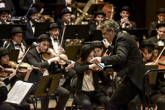Grande nuit du piano symphonique, décembre 2017, salle du Théâtre Toursky, Marseille