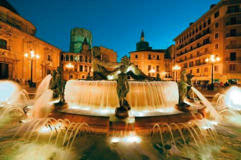 Valencia, Place de la cathédrale © Pierre Aimar