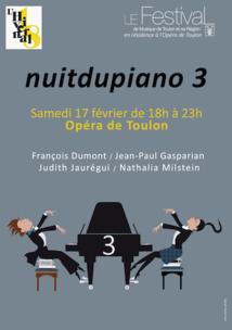 « Les Classiques du Festival » 2017 – 2018, festival de musique en résidence à l'Opéra de Toulon