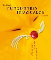 7 au 29 juillet, festival Rencontres Musicales en Savoie, 13e édition