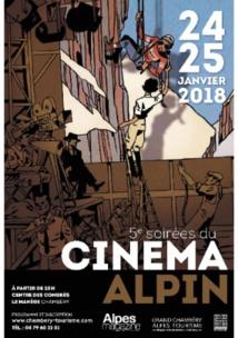 Les soirées du cinéma alpin les 24 et 25 janvier 2018 à 20h au Centre de congrès le Manège à Chambéry