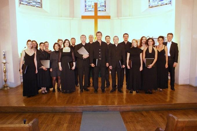 9 avril 2010, le Choeur Figure Humaine en concert à l'Eglise Evangélique Allemande
