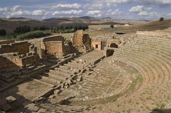 Claude Philip, Algérie, Khemissa. Construit au IIe-IIIe siècle après JC