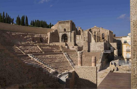 Claude Philip, Espagne, Carthagène, construit au 1er siècle