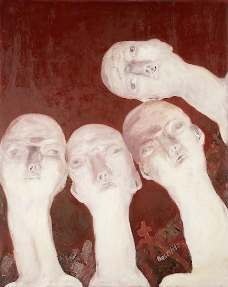 Georg Baselitz, Oberon (1er Salon Orthodoxe 64 – E. Neïzvestny), huile sur toile, 250 x 200 cm. Städel Museum, Francfort-sur-le-Main © Georg Baselitz, 2018. Photo: © Städel Museum - Artothek