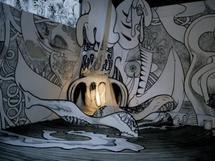 6 au 30 mai 2010, « Wall Tatoos », la première exposition solo en France de l'artiste Paul Santoleri à la Galerie Ligne 13, Paris