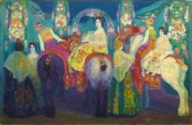 Hermen Anglada-Camarasa (1874-1959) Feria de Valence, vers 1907 © ADAGP, Paris 2010