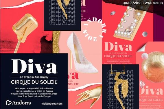 Andorre accueille Diva, la nouvelle création inédite du Cirque du Soleil du 30 juin au 29 juillet 2018