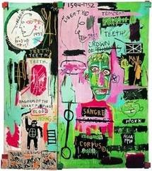 Jean-Michel Basquiat, In Italian, 1983, Courtesy The Brandt Foundation, USA © ADAGP, Paris 2010