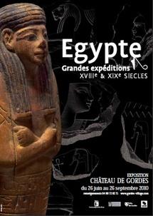 25 juin au 26 septembre 2010, Egypte au Château de Gordes, à l'occasion du bicentenaire de la Description de l'Égypte