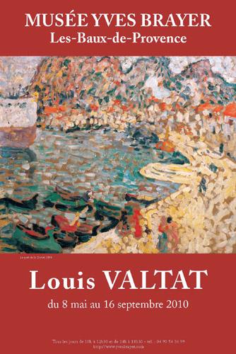 8 mai au 16 Septembre 2010, exposition Louis Valtat (1869-1952) au Musée Brayer, Les Baux de Provence