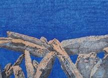 Raymond Galle, Crayon feutre et pastel gras sur papier - 120 x 200 cm - 2009