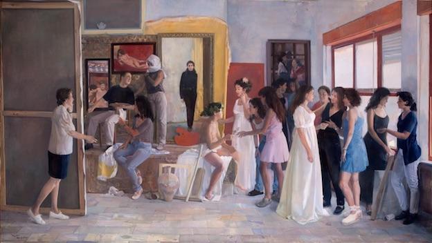 """Exposition  """"Nouvelle Poésie du Réalisme""""  de l'artiste Andrés Garcia Ibañez  au Centre d'Art Contemporain  àcentmètresducentredumonde à Perpignan  du 3 mars au 27 mai 2018"""