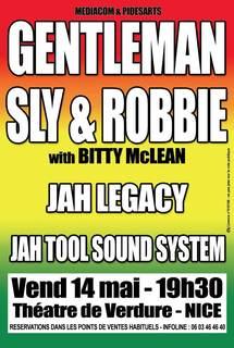 14 mai 2010, Sly & Robbie+Gentleman au Théâtre de Verdure à Nice