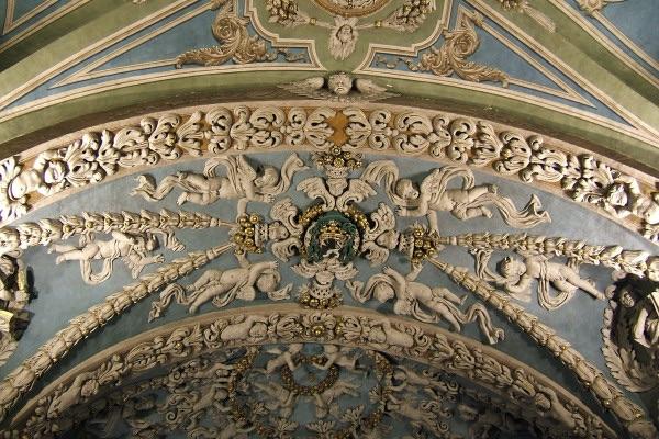 Voûte de l'église Notre Dame de l'Assomption