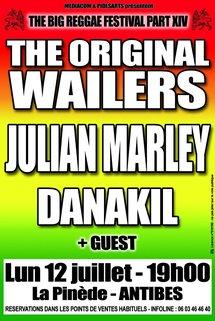 12 Juillet 2010, The big reggae festival Part XIV à La Pinède – Antibes Juan Les Pins