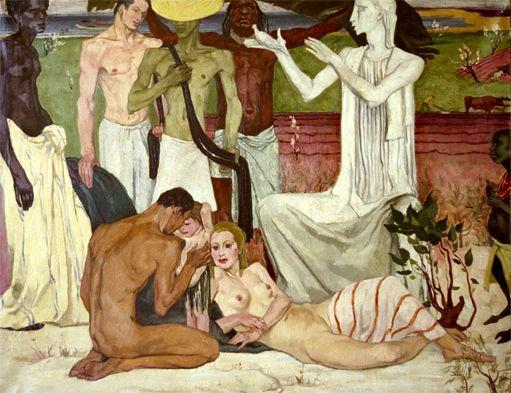 Alice Martinez-Richter. La paix. Prix de Rome 1939