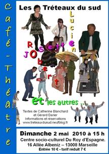 Tous au Café-Théâtre avec Josette, Lucien, Robert et les autres…