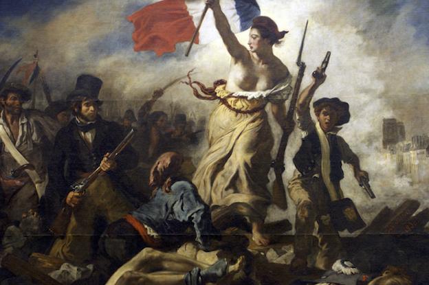 La Liberté guidant le Peuple, par Delacroix