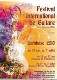 27 juin au 3 juillet, 10e festival international de guitare de Lambesc