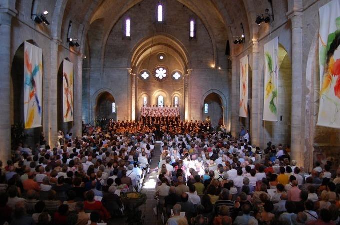 Concert en l'abbaye de Sylvanès © dr