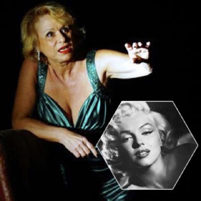 Théâtre du Balcon - Avignon. L'autre là, la blonde, hommage à Marilyn Monroe, création 2018. Jeudi 8 mars - 19h.