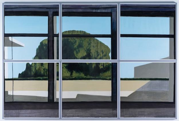 Jérémy Liron, Paysage n°110, 2012, coll. musée municipal Paul-Dini. © photo Didier Michalet
