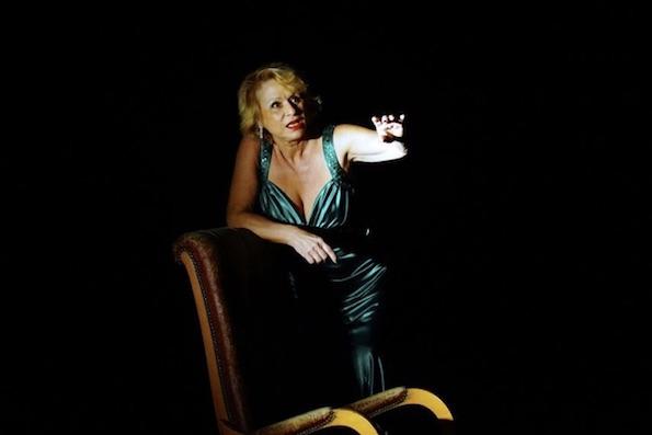Dans l'intimité d'une icône. L'autre là, la blonde. Vu au Théâtre du Balcon, Avignon, le 8 mars 2018