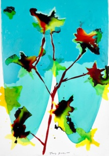 Tony Soulié : Fleur - 180 x 125 cm