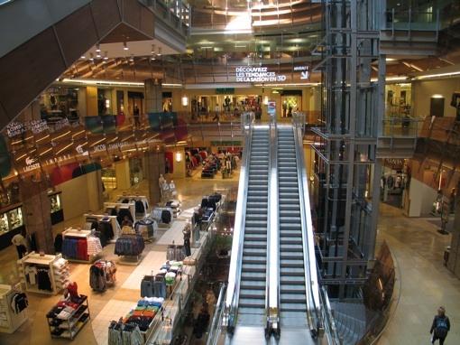 Centre commercial des Ailes, Montréal