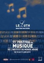 10 au 19 juin 2010, 11ème Festival de musique de l'Institut du Monde Arabe, Paris