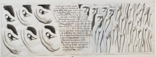 Henri Cueco, Grande Odalisque et Angélique