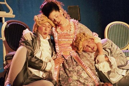 18 et 19 mai 2010, Mozart/Salieri, Le directeur de Théâtre, Opéra-comique en 2 actes au théâtre Gyptis de Marseille