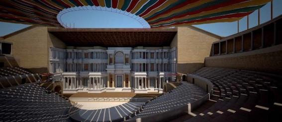 Théâtre antique d'Orange, voyage dans le temps grâce à la réalité virtuelle