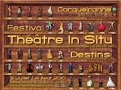 """31 juillet au 14 août, Festival """"Théâtre in situ"""" au Fort de la Bayarde à Carqueiranne"""