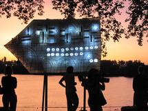 29 & 31 juillet 2010, Embarcarons sur le Rhône. Festivités estivales sur le bac Barcarin V