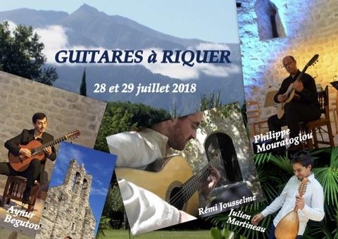 Les Rencontres Culturelles de Riquer entrent dans leur vingt et unième édition ..