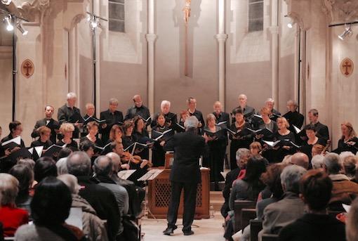 Concert du Chœur Madrigal à l'église de  Génissieux (26) le 29/4/18