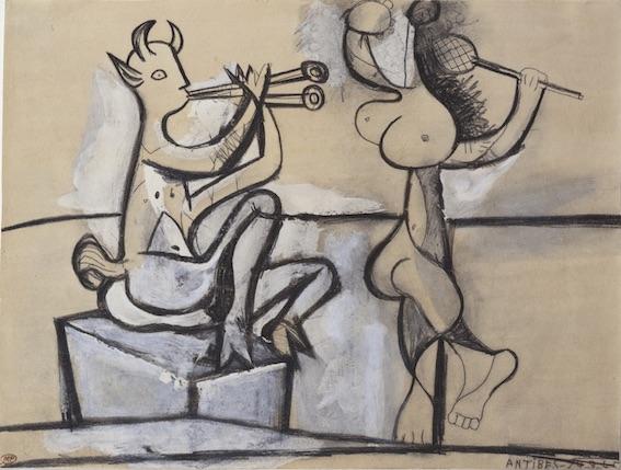 Exposition temporaire : Faune, fais-moi peur ! de l'Antiquité à Picasso