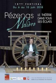 10e Festival Molière 2018 à Pézenas du 6 au 10 juin