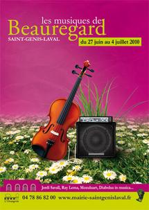 27 juin au 4 juillet 2010, Les musiques de Beauregard