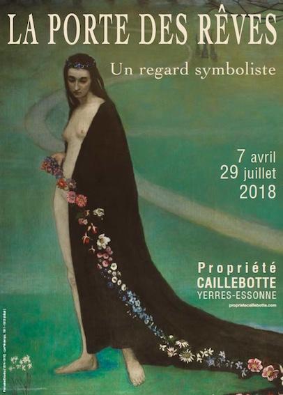 Exposition « La Porte des rêves », propriété Caillebotte, Yerres (Essonne) du 7 avril au 29 juillet 2018