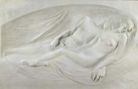Victor Rousseau, 1865-1954, Cantique d'Amour, 1896