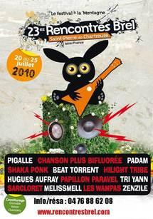 20 au 25 juillet 200, Festival Rencontres Brel à Saint-Pierre-de-Chartreuse (38)
