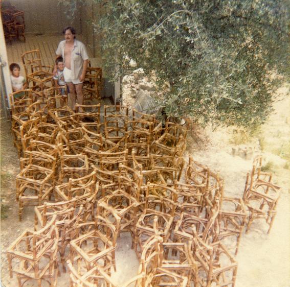 Savoir-faire régional - François Passolunghi, mobilier en moelle de rotin + Joachim Jirou-Najou, scénographie. Design Parade Hyères