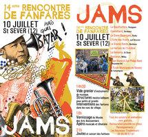 10 juillet 2010, 14ème festival des JAM'S à Saint Sever du Moustier