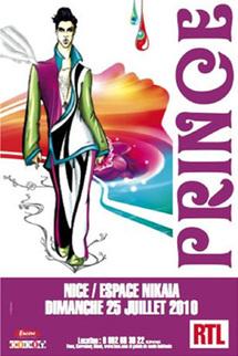 25 Juillet 2010, Prince en Concert Evénement à l'Espace Nikaia, Nice