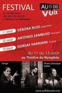 11 au 13 août 2010, Festival Au fil des Voix à Vaison-la-Romaine